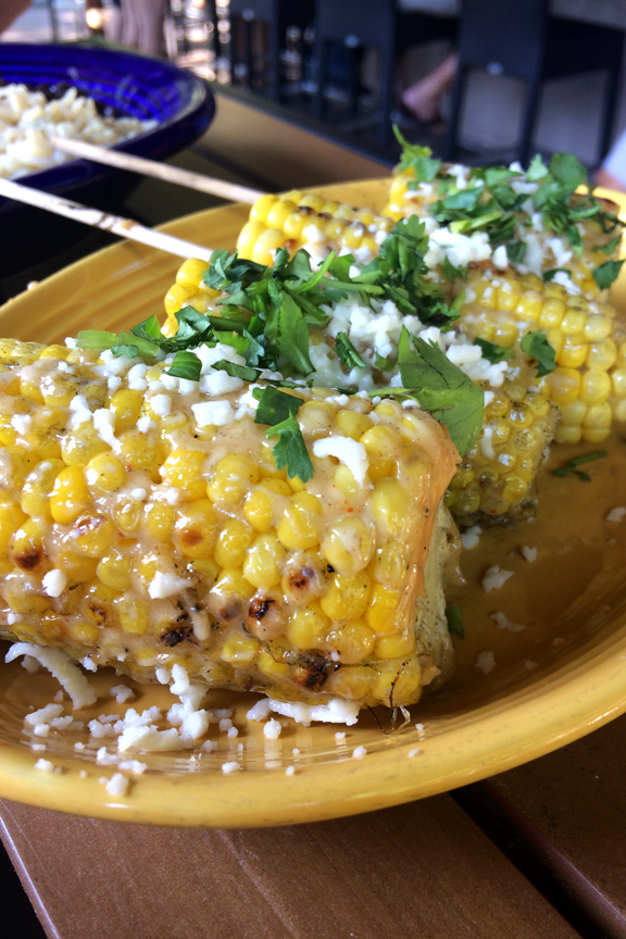 An image of Mexican street corn.